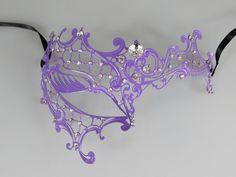 Phantom of the Opera Inspired Purple Masquerade Mask with Elegant Gems by RavishingArts on Etsy https://www.etsy.com/listing/216164852/phantom-of-the-opera-inspired-purple