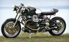 "1998 Moto Guzzi Centauro Cafe Racer His Lordship loves his Guzzi""s Moto Guzzi Motorcycles, Cafe Racer Motorcycle, Custom Motorcycles, Custom Bikes, Street Motorcycles, Motorcycle News, Street Bikes, Bobber, Guzzi V7"