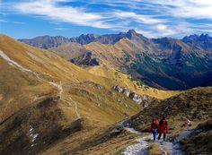 Czerwone Wierchy Ridge Route, Tatras, Poland.