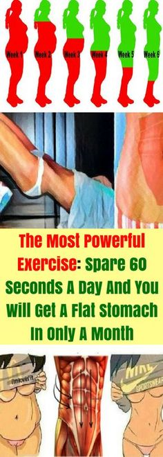 The abdominal area is actually the most difficult fat area. It is also most desired to be tightened and flat. Most of the people hate sit-ups but dream for toned belly. Surprisingly, we have good news for those people. Today we will present you an extremely effective exercise that can replace more than 1000 sit-ups.