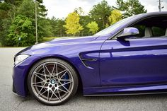 BMW M4 velvet blue.P&B.
