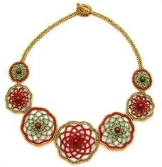 Doilies necklace - by Cynthia Poh