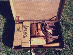 www.vesica.com.au #upcycle # sustainable  #waterbottlecase  #handmade  #leather  #outdoors  #bpafree  #myvesica  # thechannonmarket #vintage  #marketvibes  #marketcrafts  www.vesica.com.au