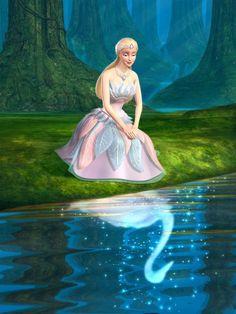 Barbie Lago do Cisnes . Barbie Swan Lake, Barbie Cartoon, Logo Barbie, Lake Tattoo, Barbie Y Ken, Princess And The Pauper, Lake Painting, Lake Pictures, Veronica Lake