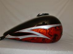 Split Decisions Paint Set Details Custom Motorcycle Paint Jobs, Custom Paint Jobs, Custom Bikes, Motorcycle Tank, Motorcycle Design, Bobber Bikes, Motorcycles, Pinstripe Art, Old School Chopper