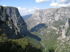 Vikos is listed as the deepest gorge in the world by the Guinness Book of Records