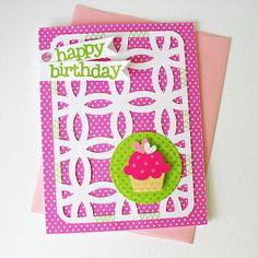 Cute card - easy for the Cricut