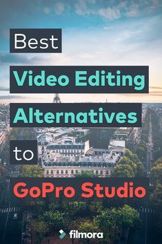 GoPro provides a dedicated software tool called GoPro Studio to accomplish this task. Apart from this default application, people may want to go for some alternatives due to various reasons. Here are some alternatives forGoPro studiowhich are handy in terms of video editing. You may consider the given facts before trying out them.