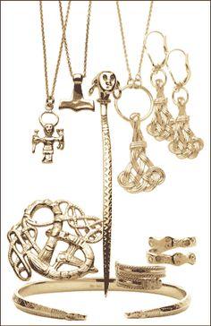 Viking inspired jewelry