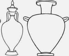 Resultado de imagem para jarroes gregos de pe alto