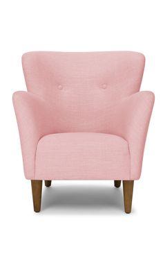 HAPPY 'Rose Quartz' armchair