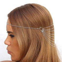 Bridemaids accessories, Hair jewelry, Head accessory for wedding. $34.00, via Etsy.