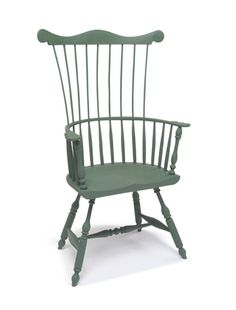 Philadelphia Comb-back Windsor chair by Vincent Chicone from Chicone Cabinetmakers