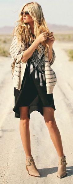 Boho Fabulous .. Love the Boots <3
