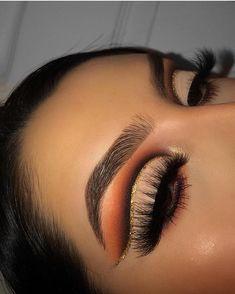 Gorgeous Makeup: Tips and Tricks With Eye Makeup and Eyeshadow – Makeup Design Ideas Makeup Eye Looks, Beautiful Eye Makeup, Eye Makeup Art, Skin Makeup, Eyeshadow Makeup, Eyeshadows, Pigment Eyeshadow, Gold Eyeshadow, Intense Eye Makeup