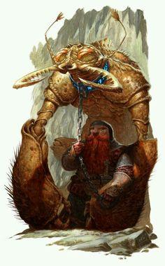 Dwarf Tamer/Anão Domador