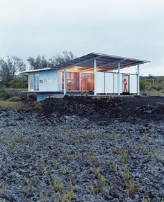 Along the ever-expanding coastline of Hawaii's Big Island, an architect and his family exchange fast-paced city life for a different kind of flow—the geological kind.