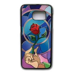 Samsung Galaxy S7 Edge Case, Beauty And The Beast Enchanted Rose Cover For Samsung Galaxy S7 Edge Cell Phone Case Black GHST6826232 - Brought to you by Avarsha.com