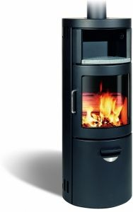 Wood Burning Stove with Baking Section