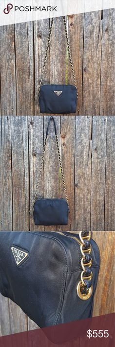 PRADA..... shoulder ......so cute!!!!! Real prada so pretty purse and still in great condition. Prada Bags