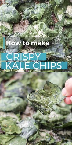 Vegetable Recipes, Vegetarian Recipes, Snack Recipes, Healthy Recipes, Healthy Breakfasts, Recipes Dinner, Kale Chips Oven, Healthy Kale Chips, How To Make Kale