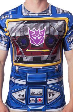 Soundwave Costume T-Shirt: Transformers Mens T-Shirt