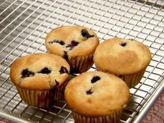 Get this all-star, easy-to-follow Blueberry Muffins recipe from Ina Garten
