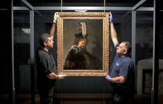 Hanging in a glass case which allows admirers to see the signature on its back, the origin of the newly-declared self-portrait – valued at £30 million and once owned by the Princes of Lichtenstein – has been debated since the 1960s. The most recent bid to name its maker took eight months, concluding last June when it was declared a genuine Rembrandt http://myartblogcollection.blogspot.ca/2015/02/30-million-rembrandt-painting-proved.html