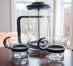 Ensemble à café Bodum, comprennent le percolateur 6 tasses et 2 tasses à café de…