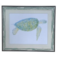 Sea Turtle 1, Crestview Collection, Framed Print Collection