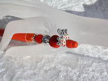 #Kugelschreiber #schreiben #Perlen #rot #Krone  Hier aus meiner Kollektion Schmuckkugelschreiber ein Exemplar mit einem wunderschönen Perlenmix. Der Kugelschreiber ist aus Kunststoff und liegt...