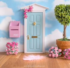 How to attract a Fairy into your home Valentines Day Decor Rustic, Fond Design, Miniature Crafts, Miniature Gardens, Digital Backdrops, Fairy Doors, Fairy Houses, Photography Backdrops, Photo Backgrounds