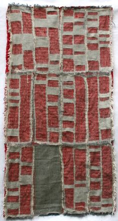 Detroit Foreclosure Quilt by Kathryn Clark, 2011,  cheesecloth, linen and cotton