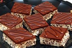 Hugs & CookiesXOXO: COOKIE DOUGH BARS TOPPED WITH CHOCOLATE GANACHE