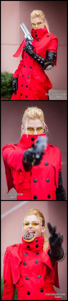 Trigun. Genderbend. Check out my FAN JUNK Cosplay store for cool fan gear: http://astore.amazon.com/cosplay_diary-20 Curated by NYC Metro Fandom. NYC Tri-State Fan Events: http://yonkersfun.com/category/fandom/