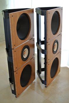 Trio15 TB Open Baffle Speakers Pair DSC_1369