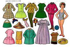 muñecas recortables, paper dolls, Бумажные куклы , bambole da carta, poupées en papier, 纸娃娃 ,: 1- EVAS