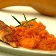 Sütőtökpüré zsályával Risotto, Carrots, Bacon, Paleo, Vegetables, Ethnic Recipes, Food, Drink, Beverage