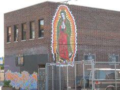 Virgen de Guadalupe, Mural 1
