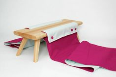 Close to be Open by Agnes Ögren and Valerie Otte - Dezeen Dezeen, Christmas Stockings, Toddler Bed, Blanket, Interior Design, Enzo Mari, Holiday Decor, Furniture, Lab