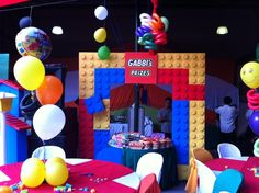 Lego Birthday Party Ideas | Photo 11 of 17 | Catch My Party