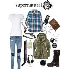 Samuel Winchester of Supernatural -inspired outfit! Supernatural Inspired Outfits, Supernatural Fashion, Supernatural Clothes, Supernatural Cosplay, Supernatural Baby, Supernatural Imagines, Sam Winchester, Dean Winchester Outfit, Winchester Supernatural