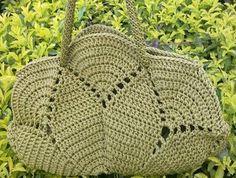 Patron Crochet Bolso con Circulo