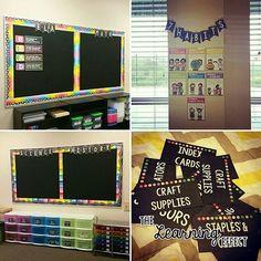 Rainbow & Chalkboard Themed Classroom | The Learning Effect