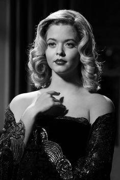 """Tune in to next week's ALL NEW #filmnoir episode """"Shadow Play"""" Tuesday Feb. 11th at 8pm/7c on ABC Family! #PLLBlackAndWhite"""