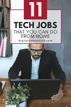 Do you have a background in technology or are willing to acquire new skills? It's definitely worth it! Check out these awesome high-paying tech jobs that you can do while working from home and that pay more than $100,000 per year! #remotejob #workfromhome #onlinejob #itjob Lead Page, Best Blogs, Big Money, Online Jobs, You Can Do, Self Improvement, Things To Think About, Remote, How To Remove