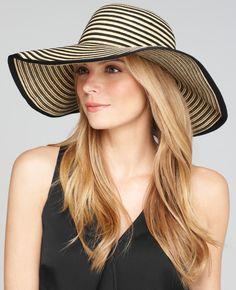 Ann Taylor - Striped Sun Hat