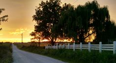 Nothing better than sunsets in the country!
