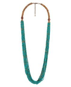 Beaded Tribal Necklace | FOREVER21 - 1011598667