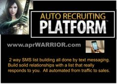 SMS List Building..... [98% of texts are opened in 30 seconds] 98% of emails are never opened!!! .... 84% of Facebook Newsfeeds are never seen!!! ... 71% of Tweets are never seen!!! .... Custom Funnels... Works to promote you current opportunity or business.
